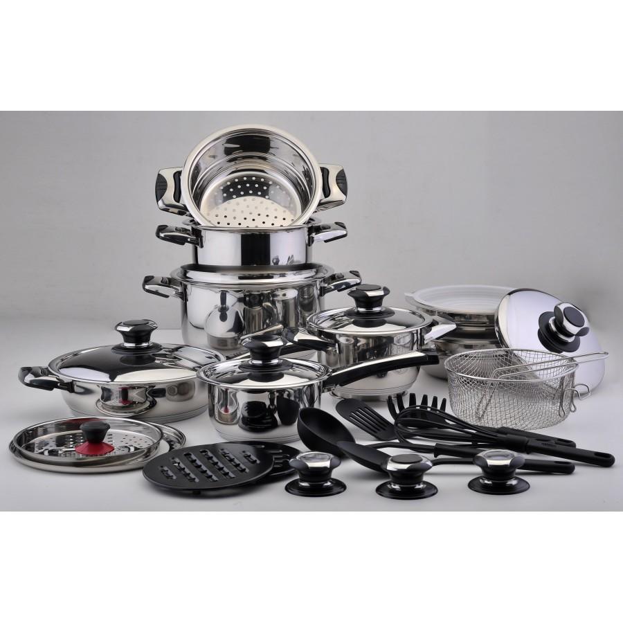 Bateria de cocina solingen inducci n 30 piezas promoescaparate - Bateria de cocina solingen 12 piezas ...