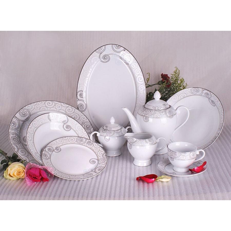Vajilla royal bavaria porcelana fina 83 piezas for Vajilla porcelana