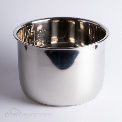 Cubeta Acero Inox 6 L. para Olla GM, COCIMIX, JRD, ERIKA , FUSSION COOK