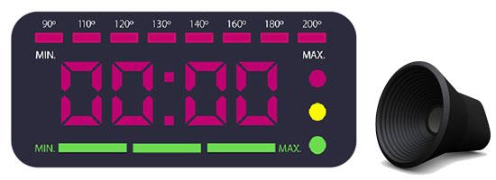 Pantalla LED Intuitiva y Guiación por Voz