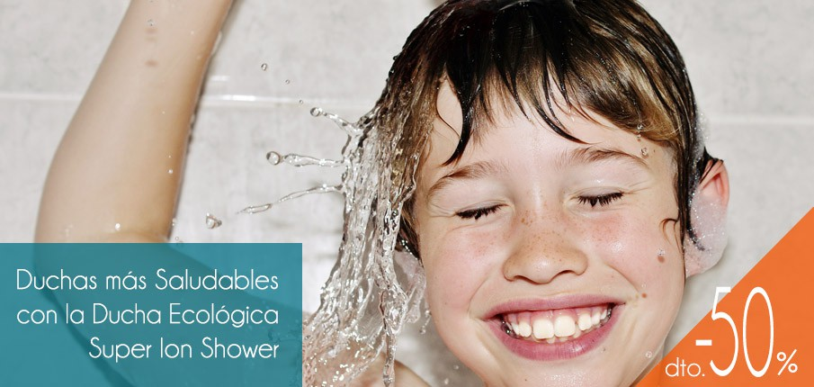 Ducha Ecológica Super Ion Shower